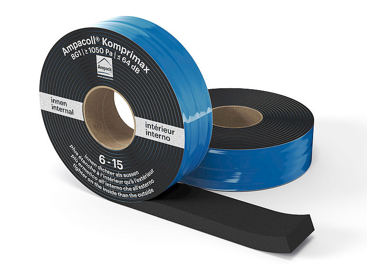 Product photo: Ampacoll Komprimax M 60/6-15, pre-compressed multifunctional tape