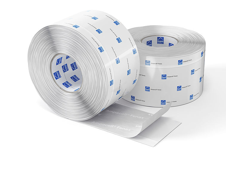 Product photo: Ampacoll Fenax 12/88, window connection tapes, moisture-variable