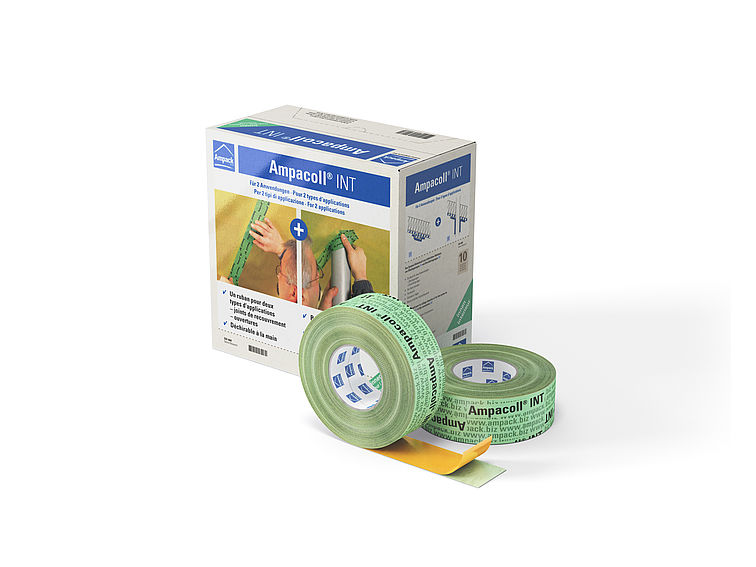 Product photo: Ampacoll INT, airtight adhesive tape