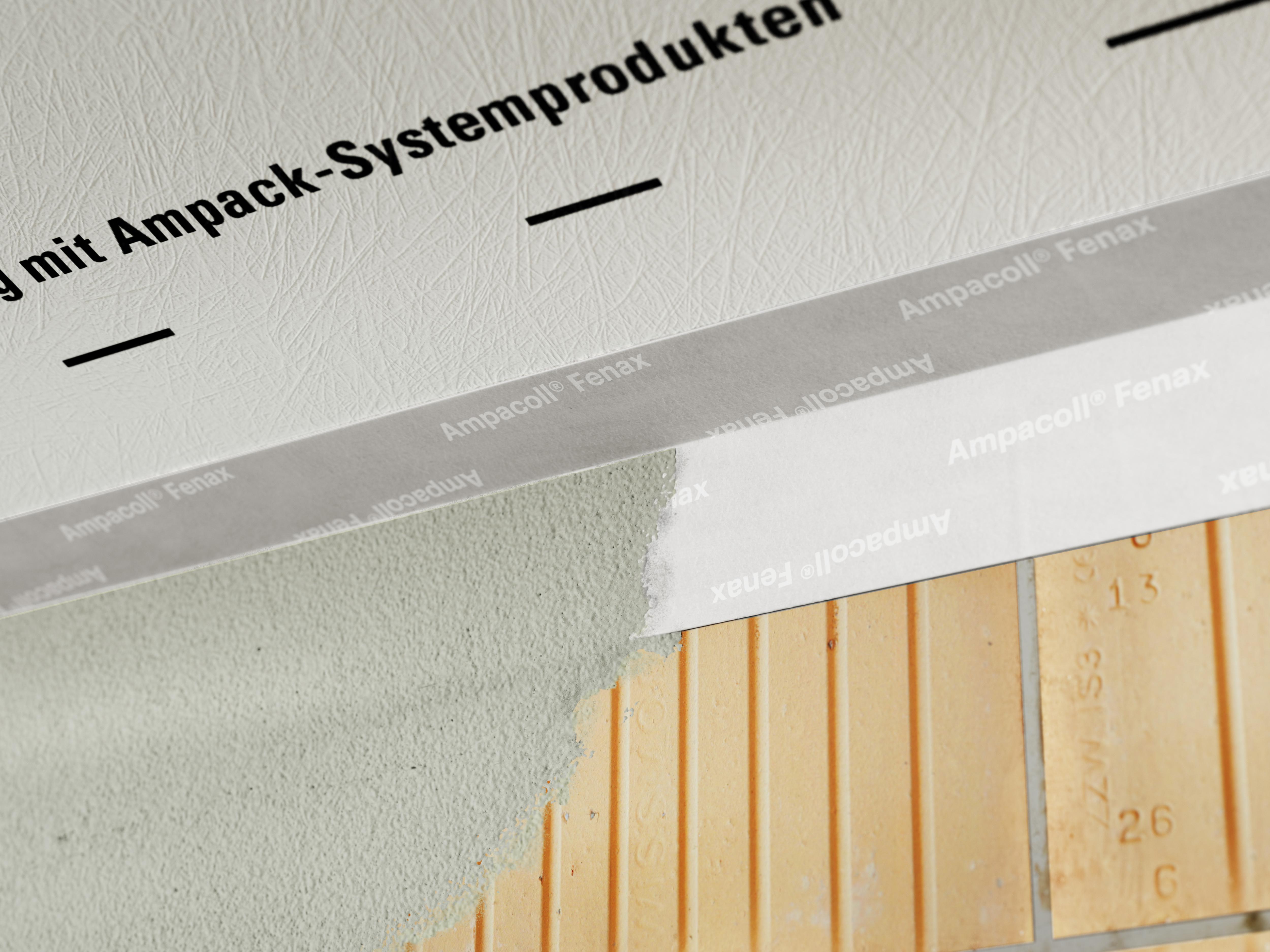 Extrem Ampacoll Fenax - Einputzband der Extraklasse - Ampack EP55